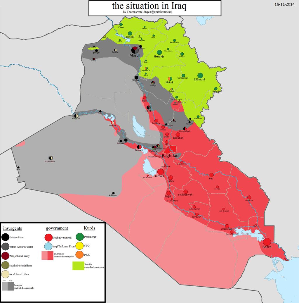 Shingal Irak Karte.Irakisch Kurdistan Karte