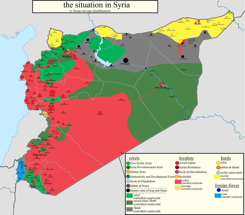Syrien Karte Krieg.Wie Sich Syrien Verändert Hat Karten Nachrichten Aus Der