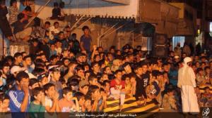 IS held a dawah event fun day for children on Eid al-Adha in Tabqa city WilayatRaqqa