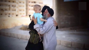 A beautiful family of Muhajiren in the Caliphate.