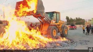 riese menge an zigaretten konfisiziert und verbrannt bo3aaj