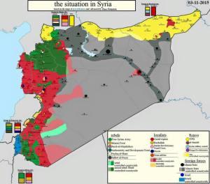 aktuelllste syrien karte